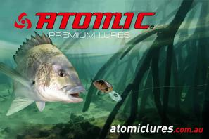 Atomic Bream Coreflute sign