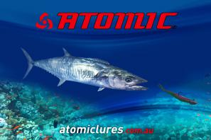 Atomic Mackerel Coreflute sign