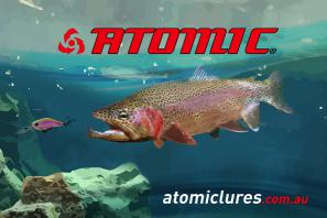 Atomic Trout Coreflute sign