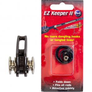 Ez Hook Keeper Black/Chrome 2pcs/pack