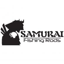 Samurai Sticker Medium Black